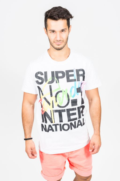 Superdry - Interlocked International Herren T-Shirt