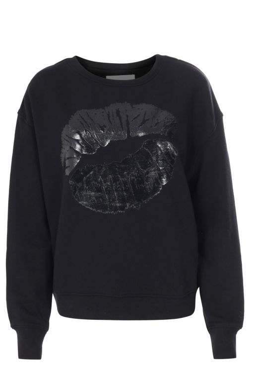 lala Berlin - Sweater Talo Lips black