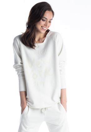 Better Rich - Sweater New York weiss