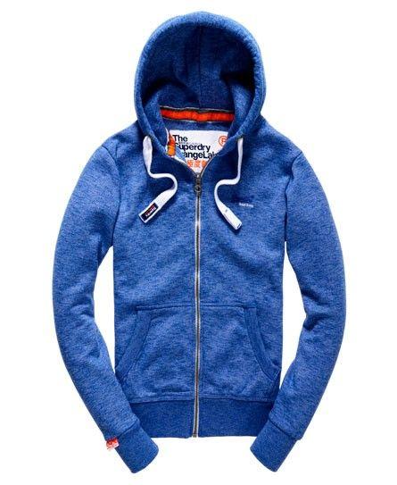 Superdry - Orange Label Ziphood aus Baumwolle
