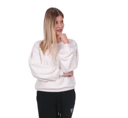Better Rich - Sweater mit Ärmeldetails milky