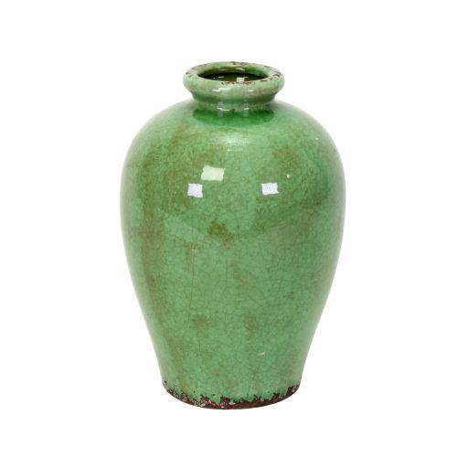 Bauchige Vase Jade klein