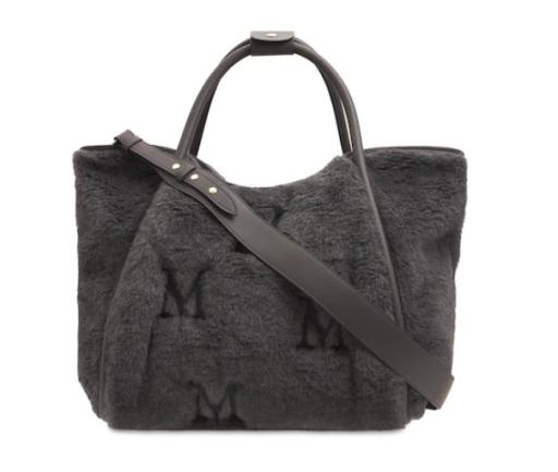Max Mara - Tasche aus Teddyfell