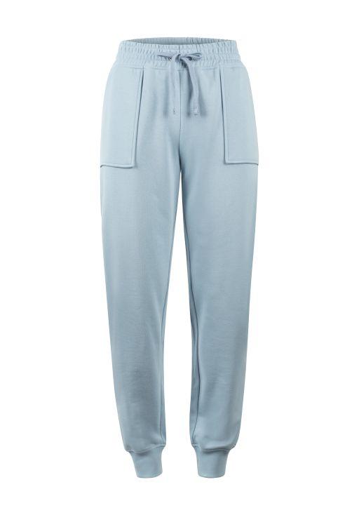 lala Berlin - Sweatpants mit aufgesetzten Taschen Light blue
