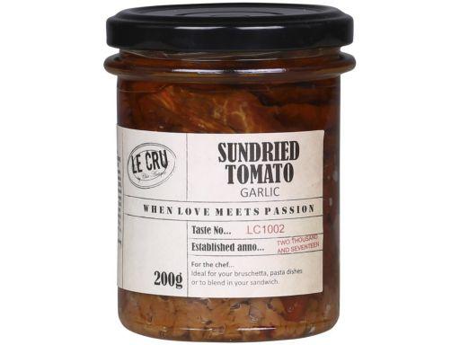 LE CRU Sonnengetrocknete Tomaten mit Knoblauch