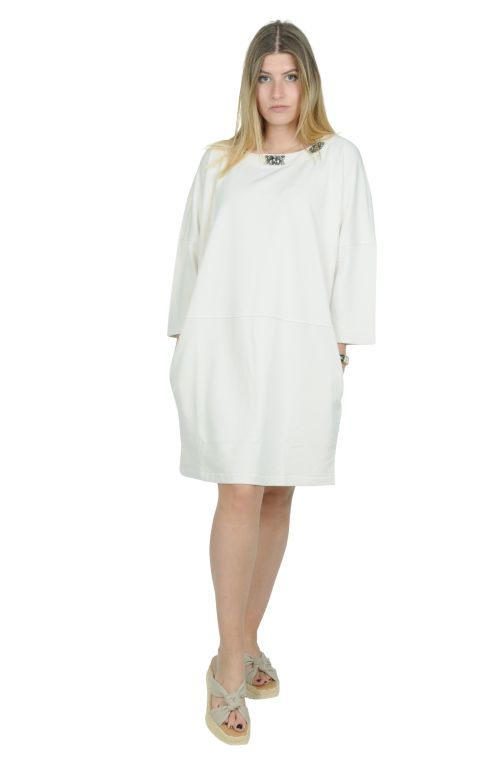 Max Mara - Kleid mit Schmuckelementen