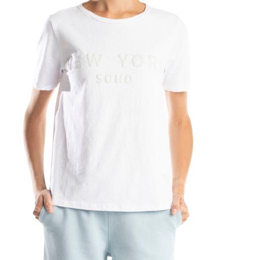 Better Rich - T-Shirt mit gummierten New York Print