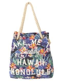 Superdry - Strandtasche bunt Hawai