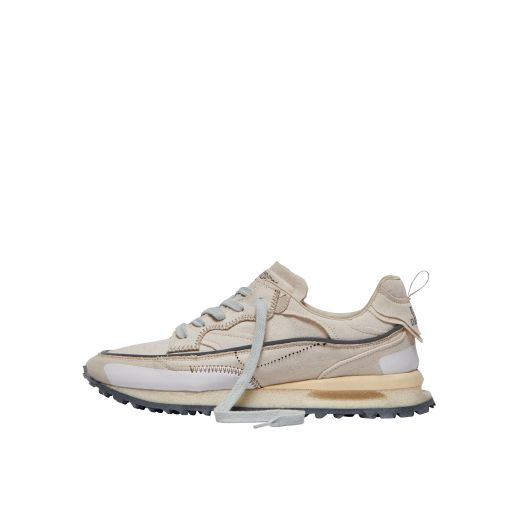 Hidnander - Sneaker Threedome beige aus Canvas