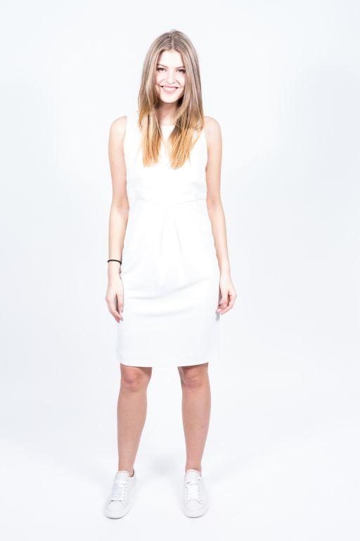 MaxMara - Kleid ohne Arm mit Schürung am Rückenteil