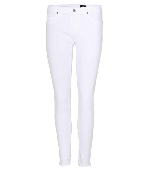 AG Jeans - The Zip up Legging Ankle weiß