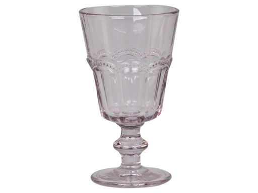 Weinglas mit Perlenkante