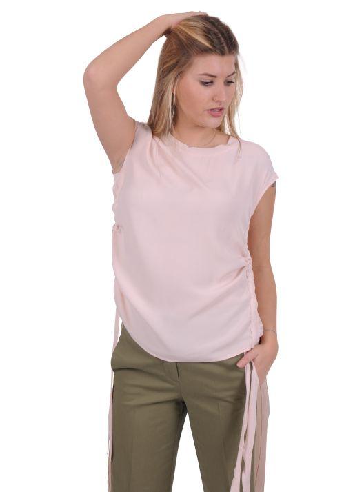 Luisa Cerano - Blusenshirt mit seitlichen Bändern