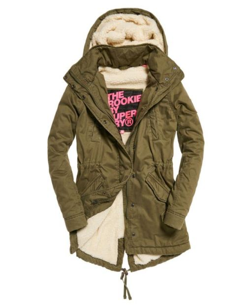 Superdry Winter Rookie Military Parka deepest army