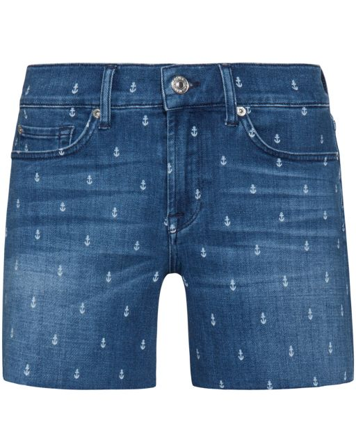 7 For All Mankind - maritime Jeans Short Slouchy Shorts