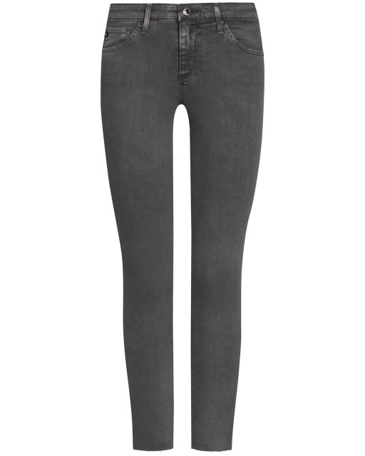AG Jeans - The Legging Ankle used grau