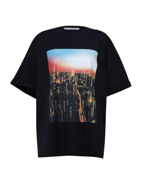 Dorothee Schumacher - T-Shirt mit Citydruck