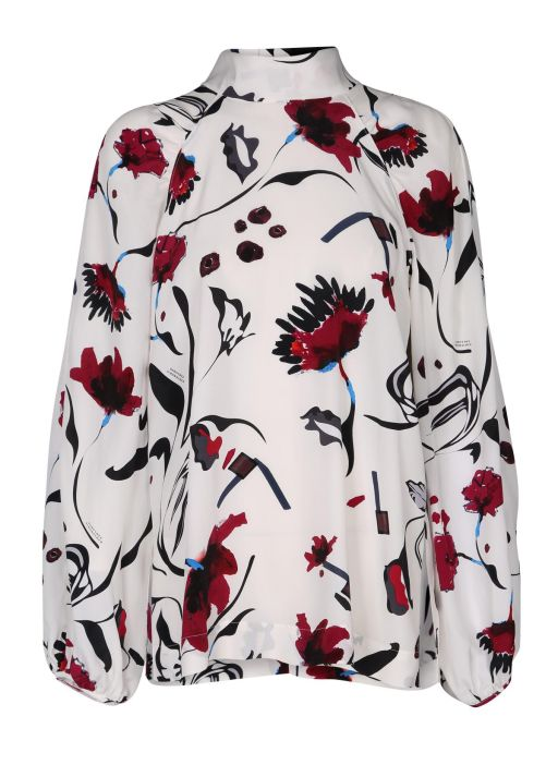 Dorothee Schumacher - Floral Abstraction Bluse