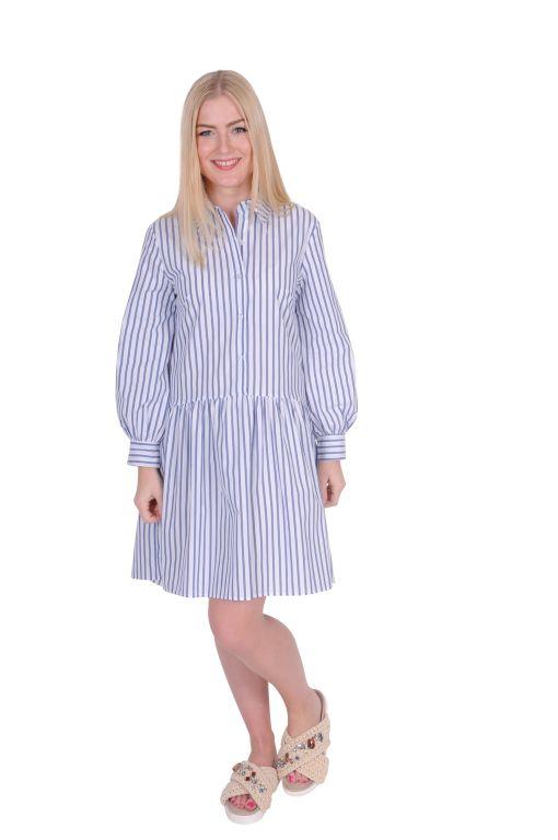 La Fée Maraboutée - Hemdblusenkleid mit Streifen