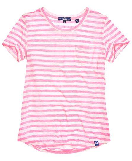 Superdry - Essential Sheer Stripe T-Shirt
