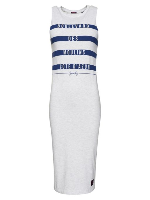 Superdry - Marina Stripe Midi Kleid