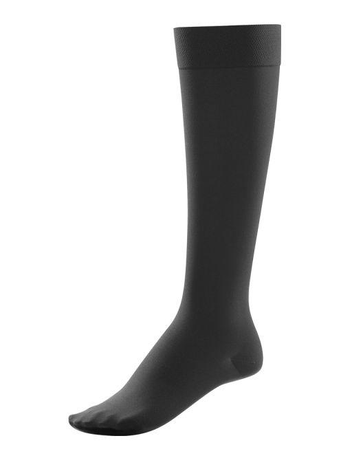 ITEM m6 - Knee High Kniestrümpfe Soft Touch schwarz