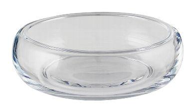 Schale Ebro klar 27cm für Glasaufsatz 25cm