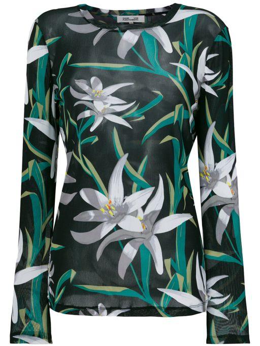 Diane von Furstenberg - Mesh Shirt