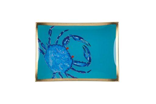 Glasteller Cote D' Azur Krabbe M