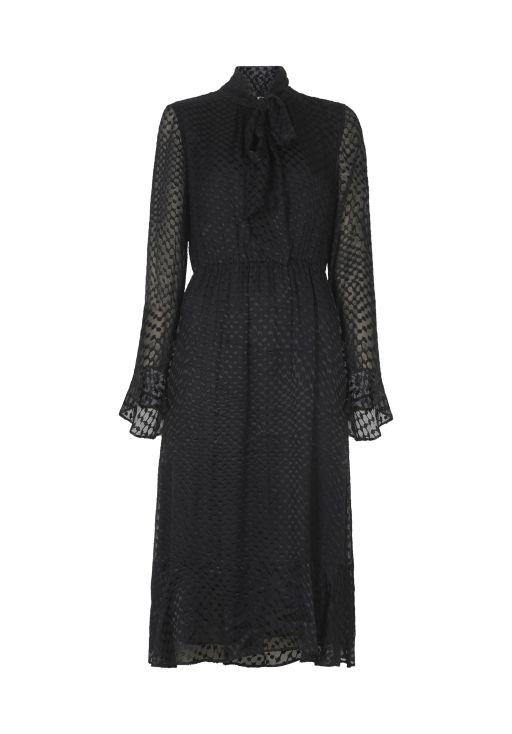 "lala Berlin - Elegantes Kleid ""Denny"" aus einem Viskose-Seide-Mix"