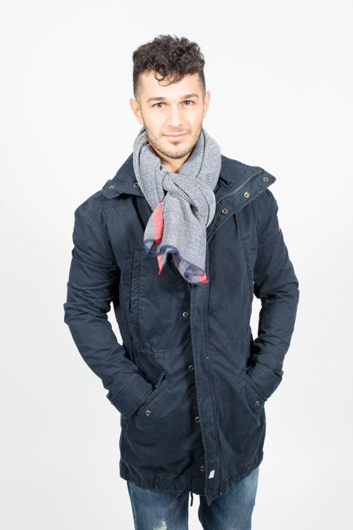 Superdry - Herren Rookie Parka Washed mit Kapuze