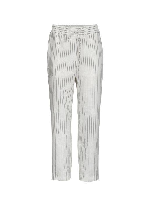 lala Berlin - Pants weiß gestreift