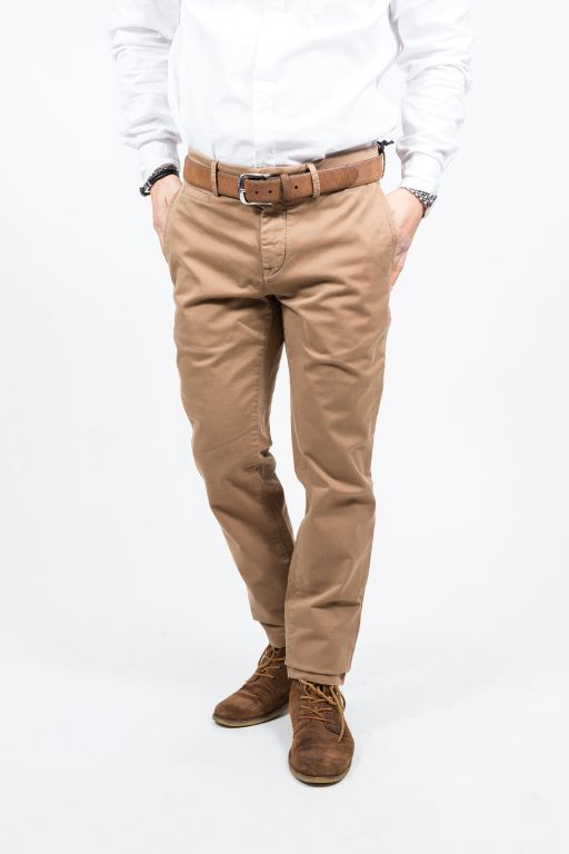7 For All Mankind - Extra Slim Chino camel