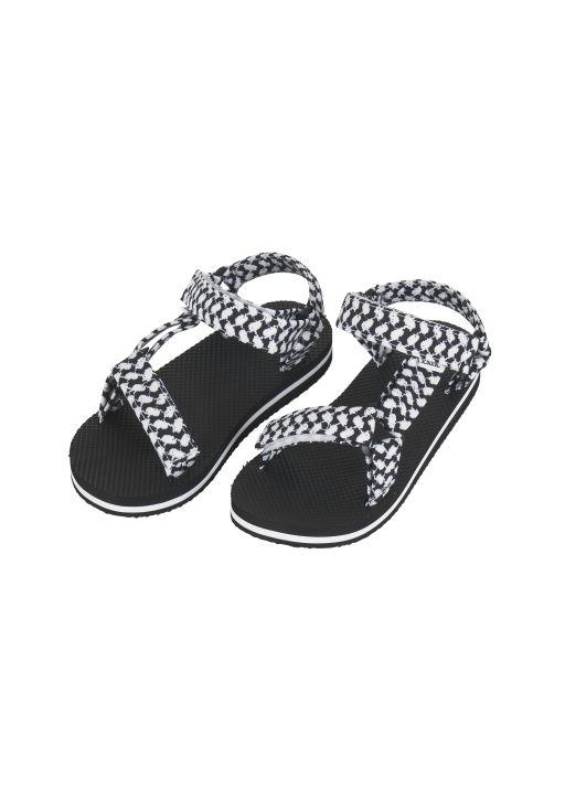 lala Berlin - Sandale schwarz-weiß