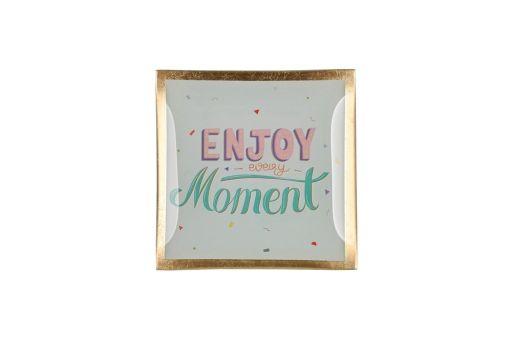 """Glasteller """"Enjoy every Moment"""""""