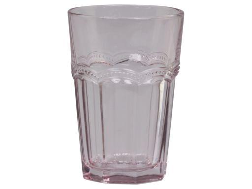 Trinkglas mit Perlenkante