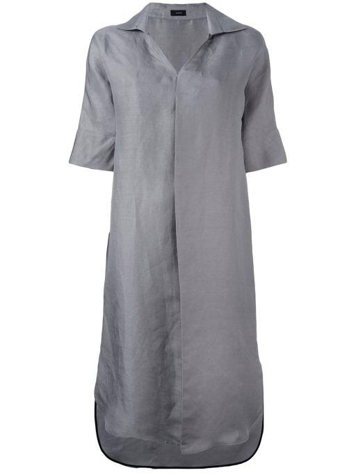 Joseph - Leinenkleid mit Kragen