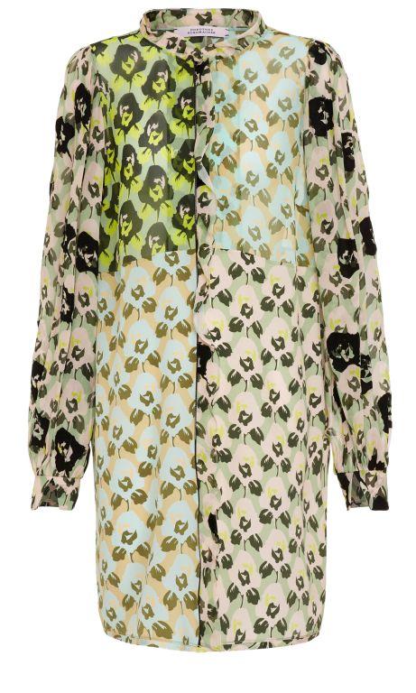 Dorothee Schumacher - Kleid mit grafischem Blumendruck