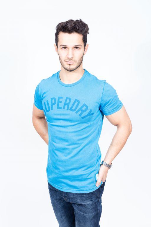 Superdry - Herren Solo Sport S/S new blue