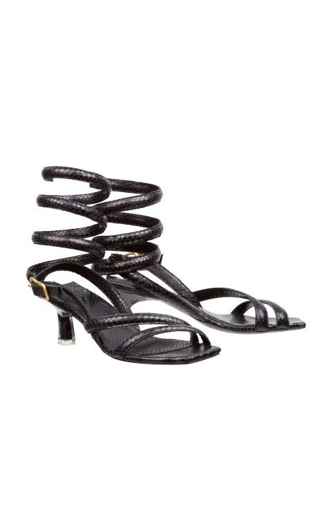 Dorothee Schumacher - Sandale mit kleinem Absatz