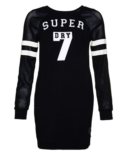 Superdry - College Tribe Sweat Dress black