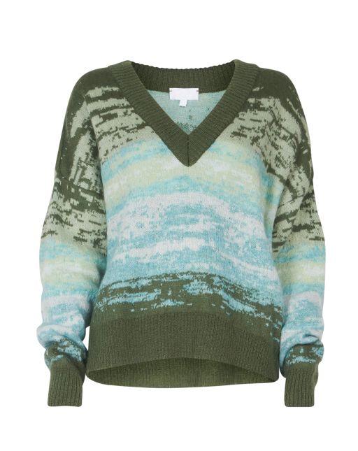 lala Berlin - Pullover mit V-Ausschnitt
