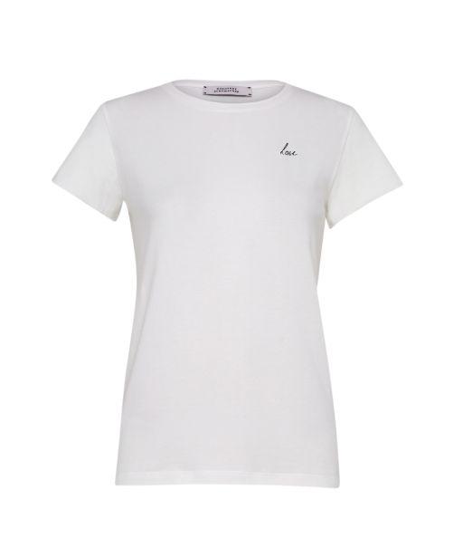 """Dorothee Schumacher - T-Shirt """"Love"""" weiß"""