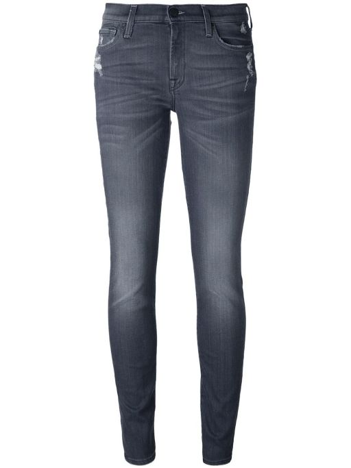 7 For All Mankind - The Skinny Slim Illusion Charcoal