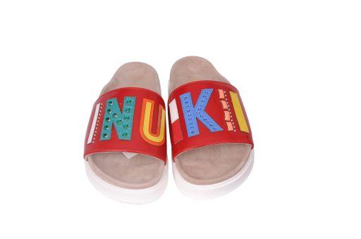 Inuikii - Sandale mit Logoriemen