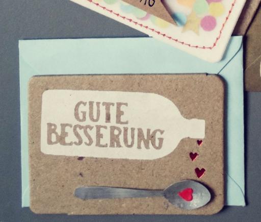 Minikarte GUTE BESSERUNG