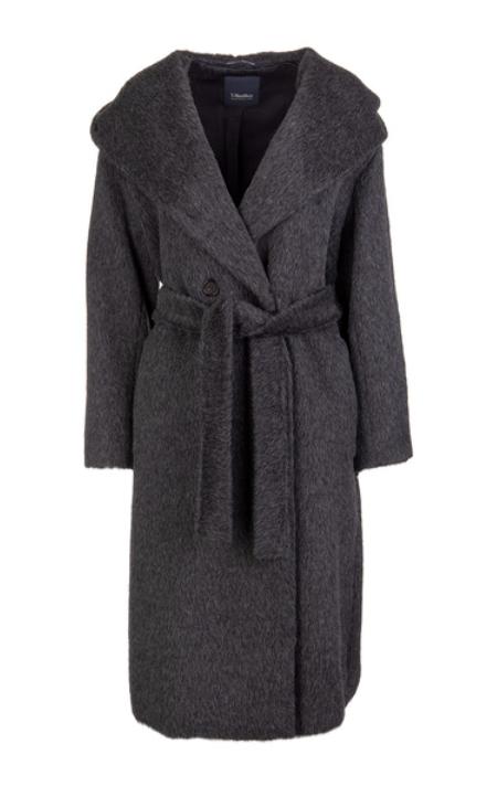 Max Mara - Langer Mantel mit Schalkragen