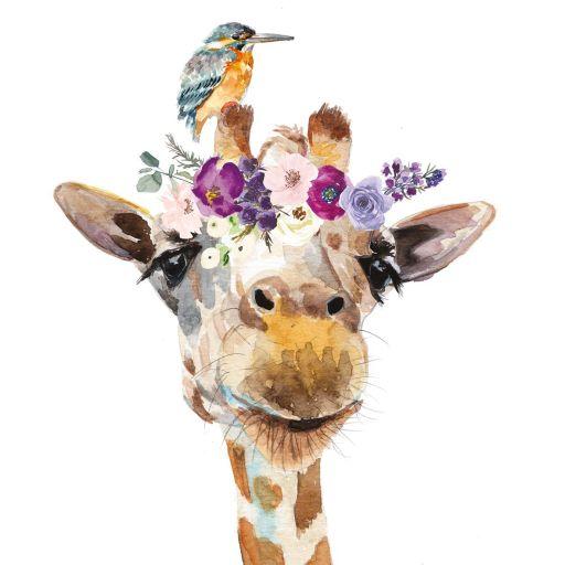 Serviette Giraffe