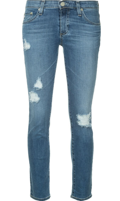AG Jeans - The Prima Ankle mit Cut-Out