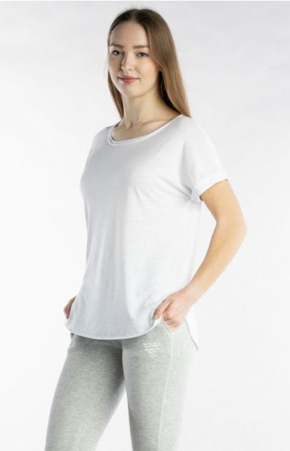 Better Rich - T-Shirt weiß Ärmelaufschlag